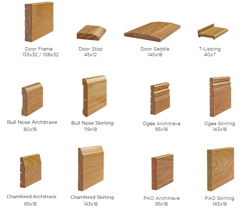 Java-Oak-Mouldings