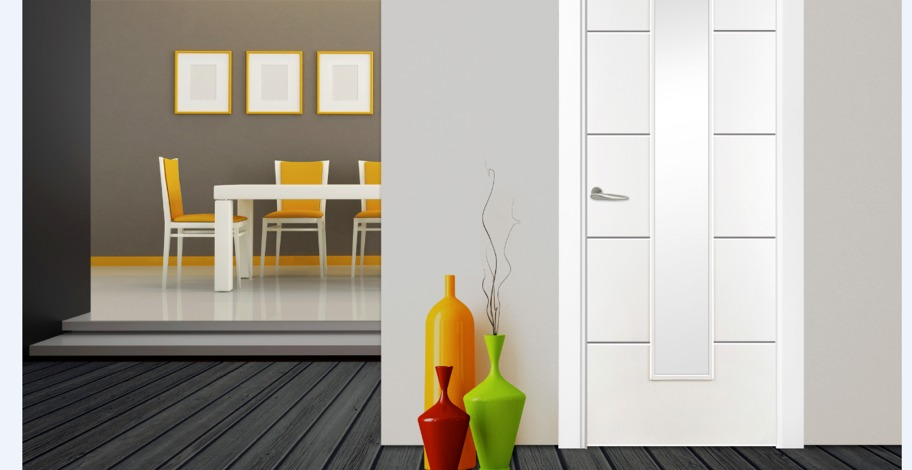 6 contemporary door models in white MDF. These doors are TCR or Top Coat Ready. They are supplied with a high quality factory paint finish which may need ... & Doras Contract Range   Declan Byrne \u0026 Sons